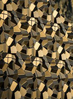 Cement 3D Wall Tile PENTA - @kazaconcrete