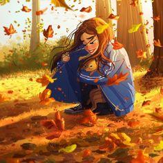 Осень. Вот оно, моё любимое время года.