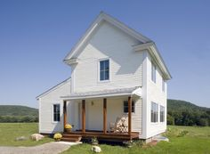 charlotte, vermont - passive habitat for humanity house designed by albert, righter and tittman