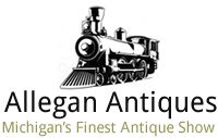 Michigan Antique Show - Allegan Antiques - 400 dealers - Held on the last Sunday of the month from April to September from 8am-4pm - Parking Free, Admission $4/person - Allegan County Fairgrounds 150 Allegan Co Fair Drive Allegan, Michigan 49010