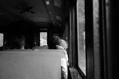 Family, Train Ride Upstate NY, Catskills