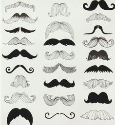 Alexander Henry 'Where's My Stache' Mustache by SpoonfulsOfLoveLLC, $11.00