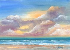 I am longing to be near the ocean, so I am going to start surrounding myself with beach scenes
