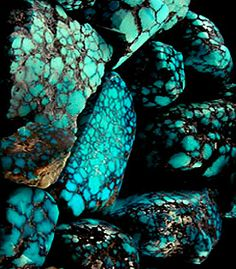 Natural Spiderweb Turquoise Rough - we have just created a great new informational page on Spiderweb Turquoise, we invite you to check it out by following this link.