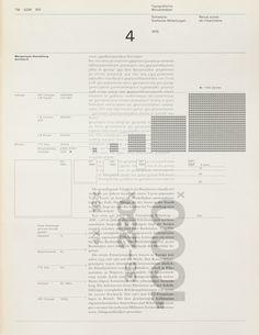 TM SGM RSI, Typografische Monatsblätter, issue 4, 1976. Cover designer: Heinrich Fleischhacker