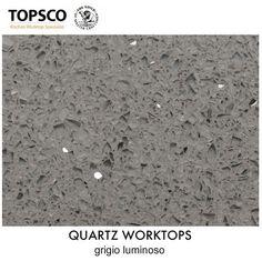 Quartz Worktops | Mid Grey with small flecks quartz sample