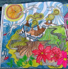 Coverack coloured by Sandra Harris