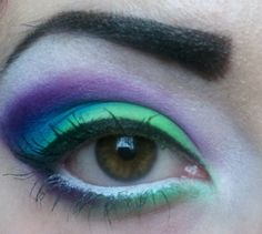 green, blue, purple