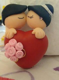 Lembrancinhas de casamento - biscuit - encomendas através de mensagem.