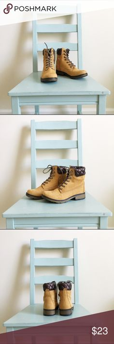 Girls cognac boots Nwt, size 2 , brand new no box , never worn Target Shoes Boots