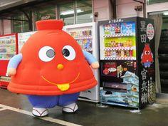 A!kanbe - Nakatsu castle mascot in Kyushu. the real japan, real japan, japan, japanese, cartoon, character, anime, animation, mascot, chara, sanrio, yuruchara, yuru-kyara, kumamon, hikonyan, tour, travel, explore, trip, adventure, gifts, merchandise, toys, dolls http://www.therealjapan.com/subscribe/
