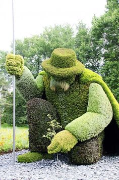 Top 20 topiaries in garden art