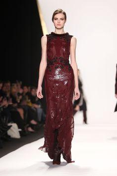 REVLON sponsors the @J. Mendel show during Mercedes-Benz NY Fashion Week Fall/Winter 2013. Photo credit: Starpix for Revlon #RevlonNYFW #NYFW