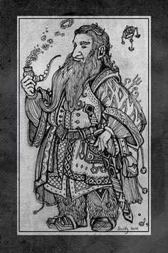 Hobbit sketchbook 5 by SceithAilm.deviantart.com on @deviantART