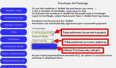 Purchace adpackages