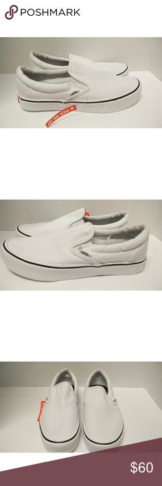 31ea0669d8e Rare Vans Ultracush Lite white -Very rare hard to find vans -New without box