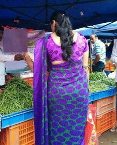 Indian Beauty Saree, Indian Sarees, Girl Back Photo, Saree Blouse, Sari, Long Indian Hair, Indian Navel, Saree Backless, Sari Blouse