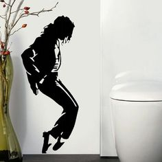 Michael Jackson Large Kitchen Bedroom Wall Mural Giant Art Sticker Decal Vinyl