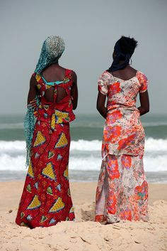 Senegal Fishing Village