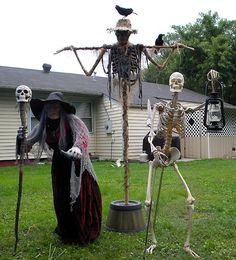 Halloween Forum member Static: Did some skeleton tweaking today
