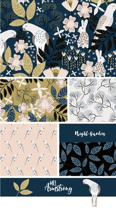 Night Garden - Mel Armstrong Design