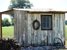 The Country Farm Home: Building Our Shabby Shed. . .