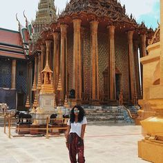 "travelnoire: ""Golden. @jade.monet // Bangkok Thailand. #travelnoire #bangkok Ready to explore Bangkok? Tag your travel crew!"""