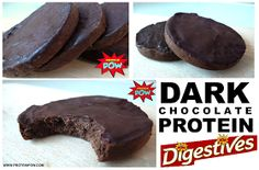 Protein Pow: Dark Chocolate Protein Digestives - Are These The Best Protein Cookies in The World?