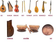Galata Mawlavi House Rumi Mawlavi Music & Sema Ensemble Education Culture & Beneficiary Association - Turkish Musical Instruments
