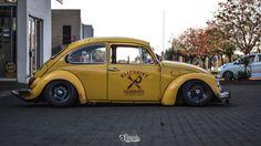 Amazing yellow VW Bug!