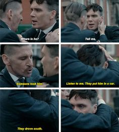 Peaky Blinders Thomas and Arthur Shelby