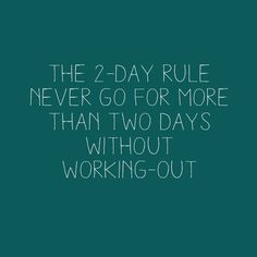 GOTTA follow this rule if I wna see results!...work or no work! #seriouscommitment