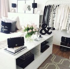 Not a fan of the whole chic vibe but I love the shelf on the side of the bed
