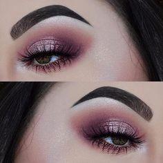Adoramos los maquillajes en tonos rosas #Pink #Eyeshadow #Makeup #Princess #Maquillaje