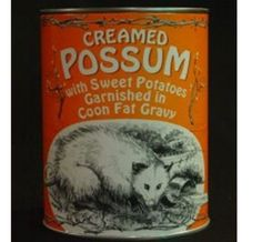Gallery of regrettable food, canned goods.