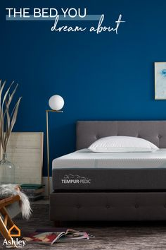Tempur-Pedic® mattresses are designed with cutting-edge cooling materials to create a cooler sleeping environment —so you can get the uninterrupted, restorative rest you need.