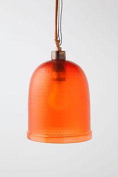 Bell Jar Pendant  #anthropologie