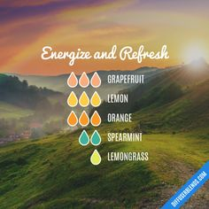 Energize and Refresh – ätherisches Öl Diffusor Bl - Beauty Tips and Tricks Essential Oils Guide, Essential Oil Uses, Doterra Essential Oils, Young Living Essential Oils, Essential Oils For Baths, Yl Oils, Makeup Tricks, Essential Oil Combinations, Massage
