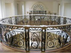 In my most luxurious dreams... Monumental stairs from Wrought Iron, Inc.