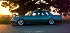Stance Works Nissan Skyline R31 BBS/RS