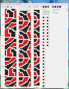 Галерея вязанных жгутиков-шнуриков и узоры к ним | Дамы, с 8 Марта! biser.info - всё о бисере и бисерном творчестве