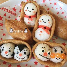 Bento Recipes, Baby Food Recipes, Japanese Dishes, Japanese Food, Cute Bento Boxes, Homemade Ramen, Kawaii Bento, Food Art For Kids, Food Cartoon