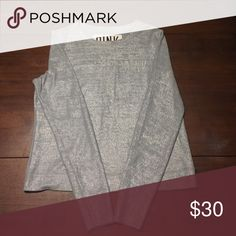 VS Pink silver sweater VS Pink silver sweater. Never worn. PINK Victoria's Secret Sweaters