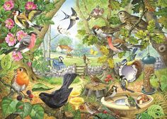 The House Of Puzzles - 1000 PIECE JIGSAW PUZZLE - Dawn Chorus in Toys & Games, Jigsaws & Puzzles, Jigsaws   eBay