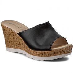 Șlapi JENNY FAIRY - W17SS576-3 Negru Fairy, Wedges, Shoes, Fashion, Moda, Zapatos, Shoes Outlet, Fashion Styles, Shoe