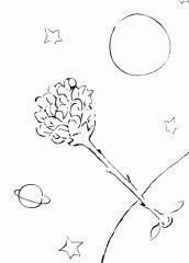 Risultati immagini per desenho da rosa do pequeno principe