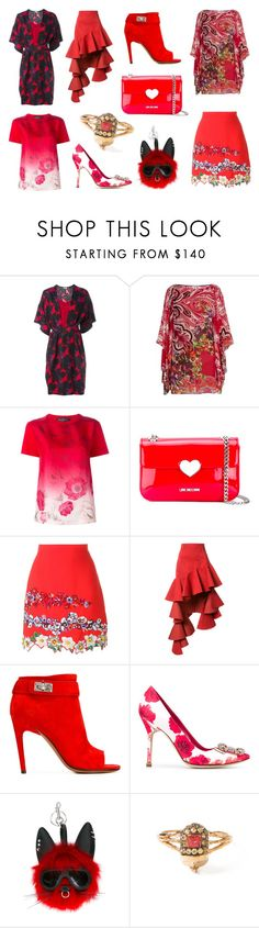 """""""Limited Supply"""" by donna-wang1 ❤ liked on Polyvore featuring Issa, Etro, Salvatore Ferragamo, Love Moschino, MSGM, Jacquemus, Givenchy, Manolo Blahnik, STELLA McCARTNEY and Daniela Villegas"""
