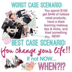 Starting your own Mary Kay business. Change your life for the better. Grow your confidence. www.marykay.com/micamunford