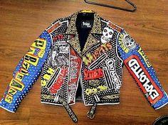 Punk Jackets, Motorcycle Jackets, Jean Vest, Battle, Goth, Blazer, Dark, Kids, Leather