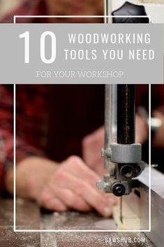 From the jigsaw to kreg jig to cordless drill, we share the 10 must have woodworking tools for your home and workshop. These power saws, drills, and sanders will allow you to tackle any DIY project.